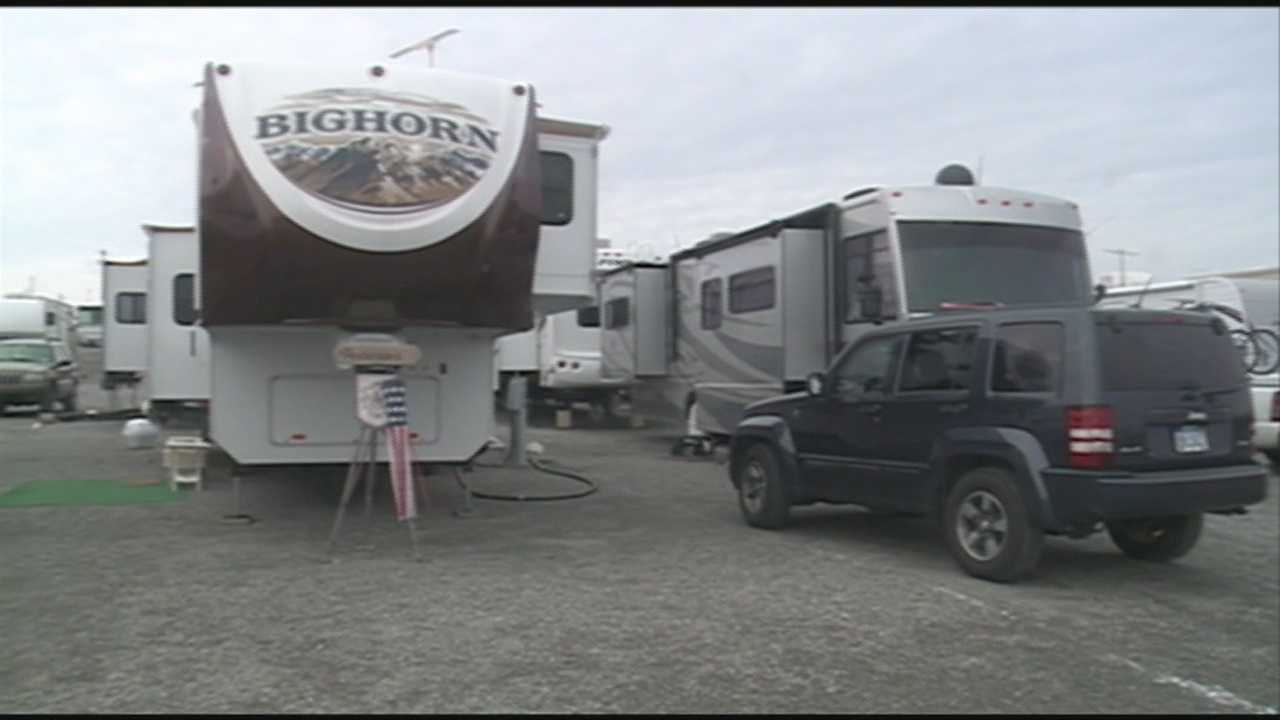 Campgrounds in Campbellsville, Ky., are booming with seasonal workers for Amazon.