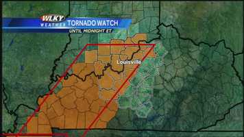 Meteorologist Jared Heil has the latest on the threat for severe weather Saturday night.