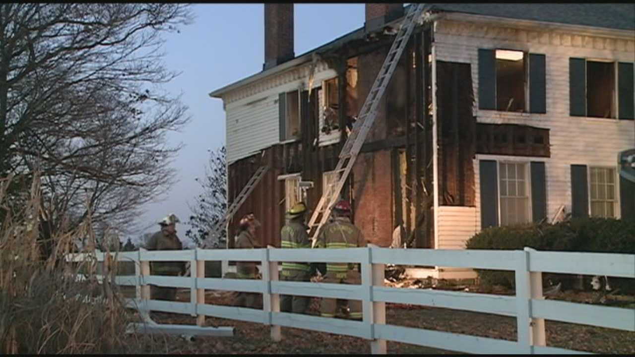A family made it out safely after an early morning house fire on Old Heady Road.