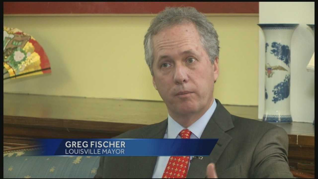Louisville Mayor Greg Fischer looks back on the accomplishments of 2013 and the campaign ahead as he works toward reelection.