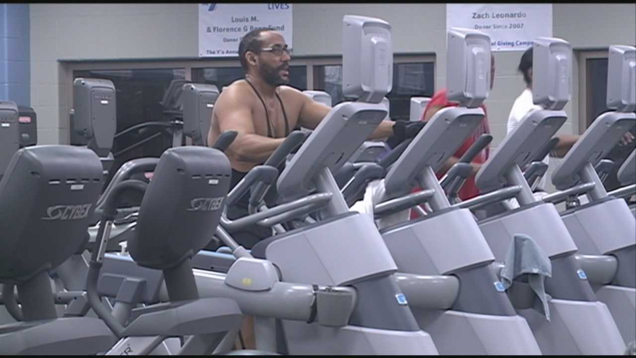 The YMCA in downtown Louisville opened its doors at 6 a.m. and there were 12 people waiting in line to get inside, looking to get a jump start on the day and to set a healthy tone for the rest of the year.