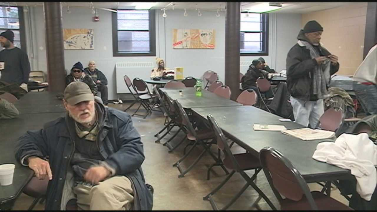 Jefferson Street Baptist Center is normally a day shelter where they provide anything from a person's mail, to their daily bread.