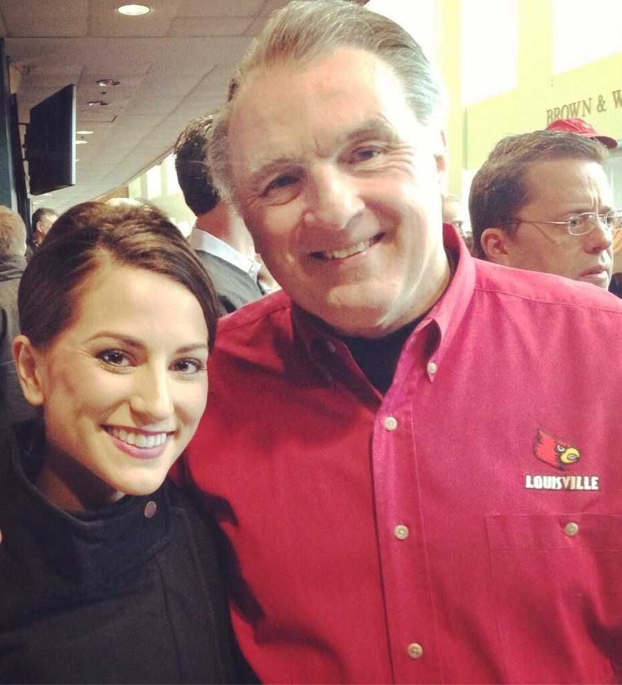 Former University of Louisville quarterback Wally Oyler said he's happy to see Bobby Petrino return to the Cardinals.