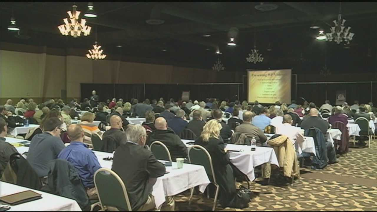 A statewide conference is held Thursday to address violence in schools and workplaces.