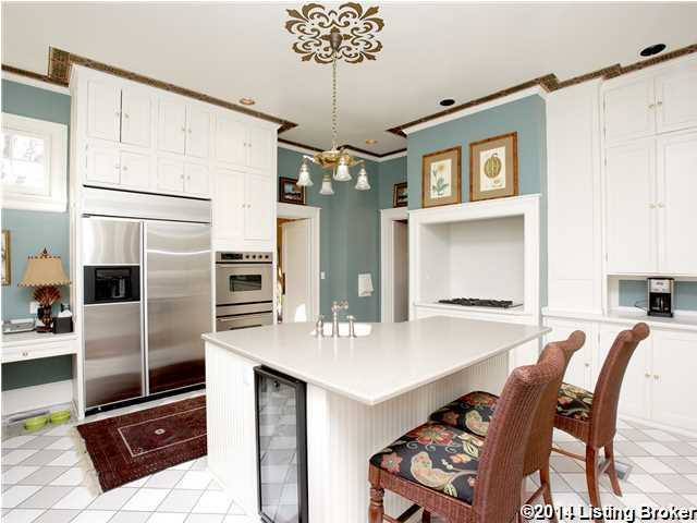 Completely renovated kitchen.