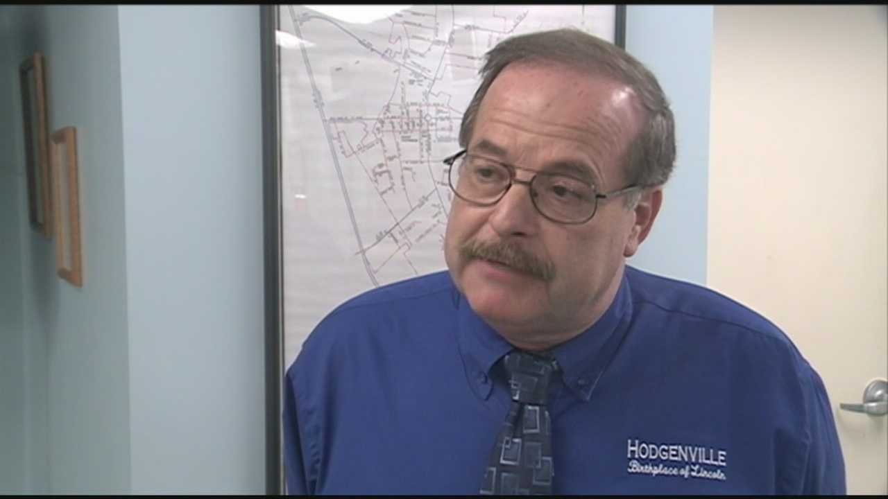 Hodgenville mayor talks about allegations