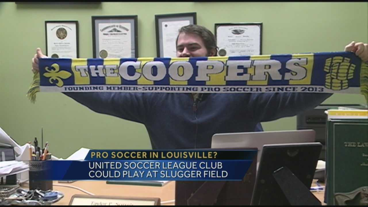 Soccer fans are excited for the possibility of a pro team coming to Louisville.