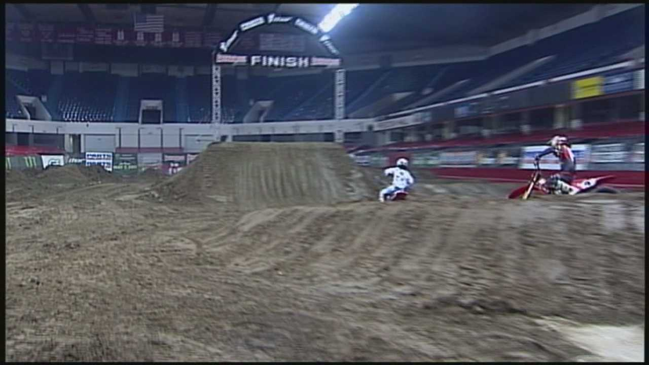 For the first time in three years, ArenaCross racing returns to Louisville.