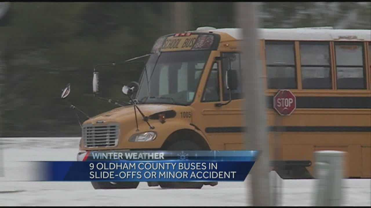 Many parents of Oldham County students were upset and felt school should have been canceled Friday due to weather.