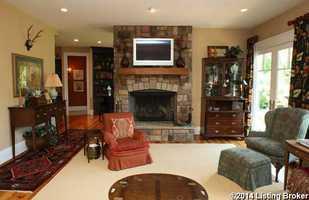 Classic family room.