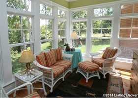 What's a Louisville mansion without a sun-room?