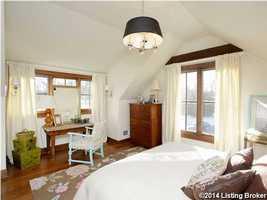 Charming guest suite.