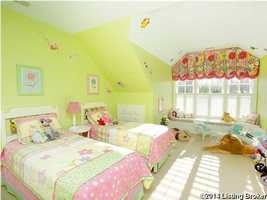 A little girl's dream room.