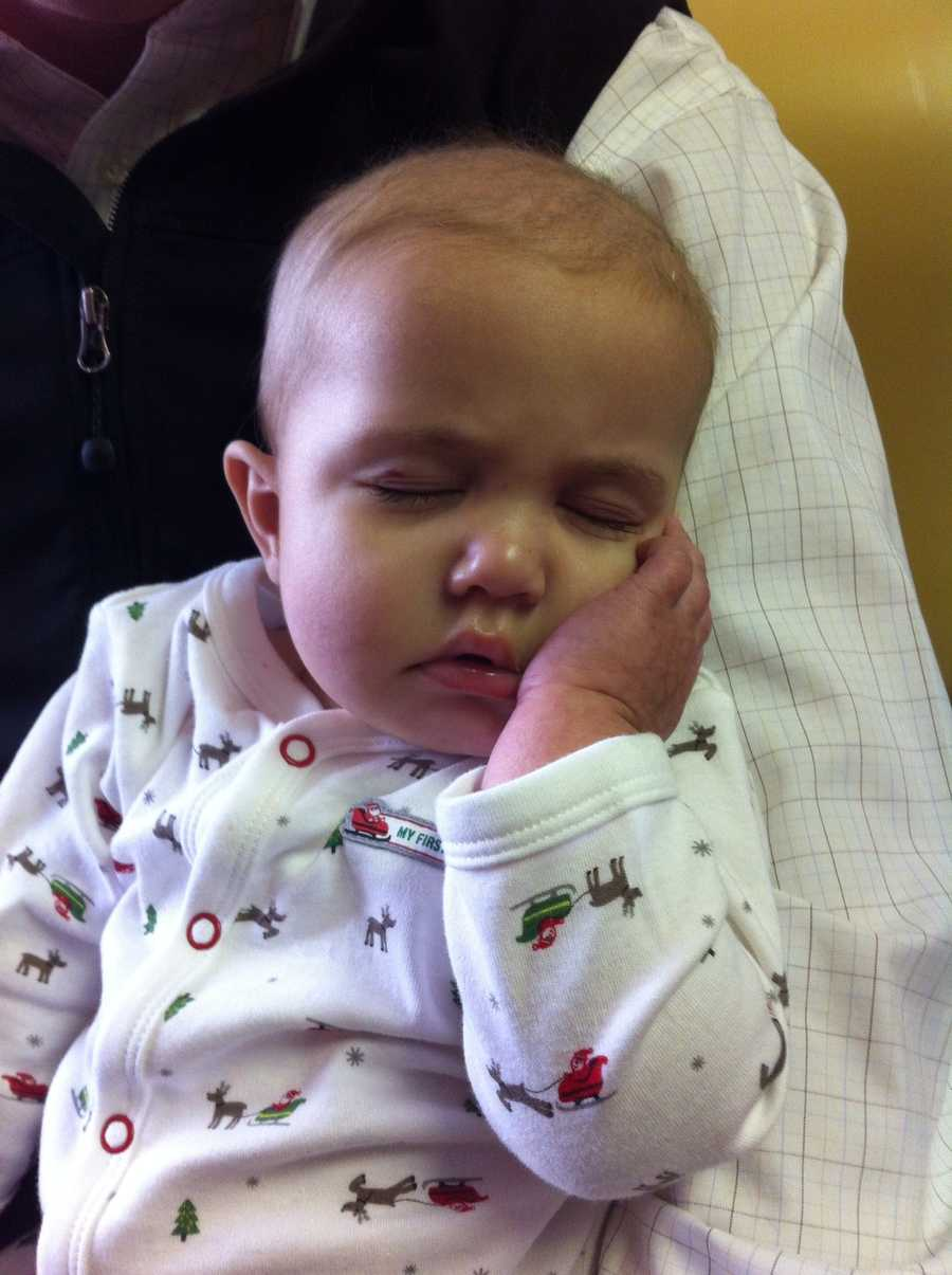 Hadley is fighting leukemia at Kosair Children's Hospital and is in need of a bone marrow transplant.