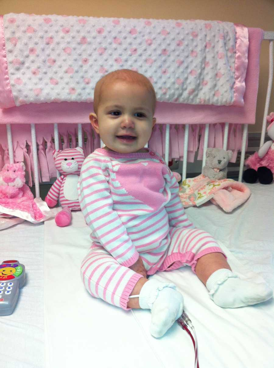 The family of 8-month-old Hadley Mercer hopes the community will come out to help save their daughter.