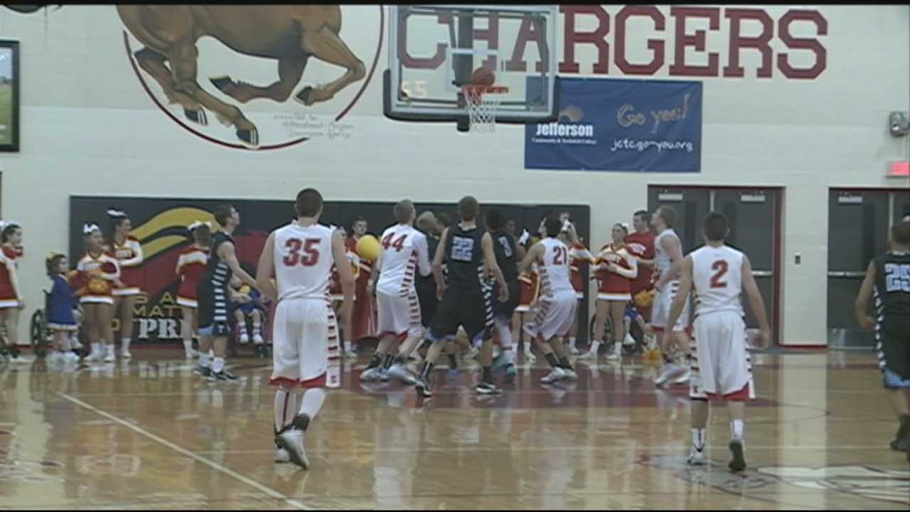 High school basketball action hot despite cold weather (Part 1 of 3)