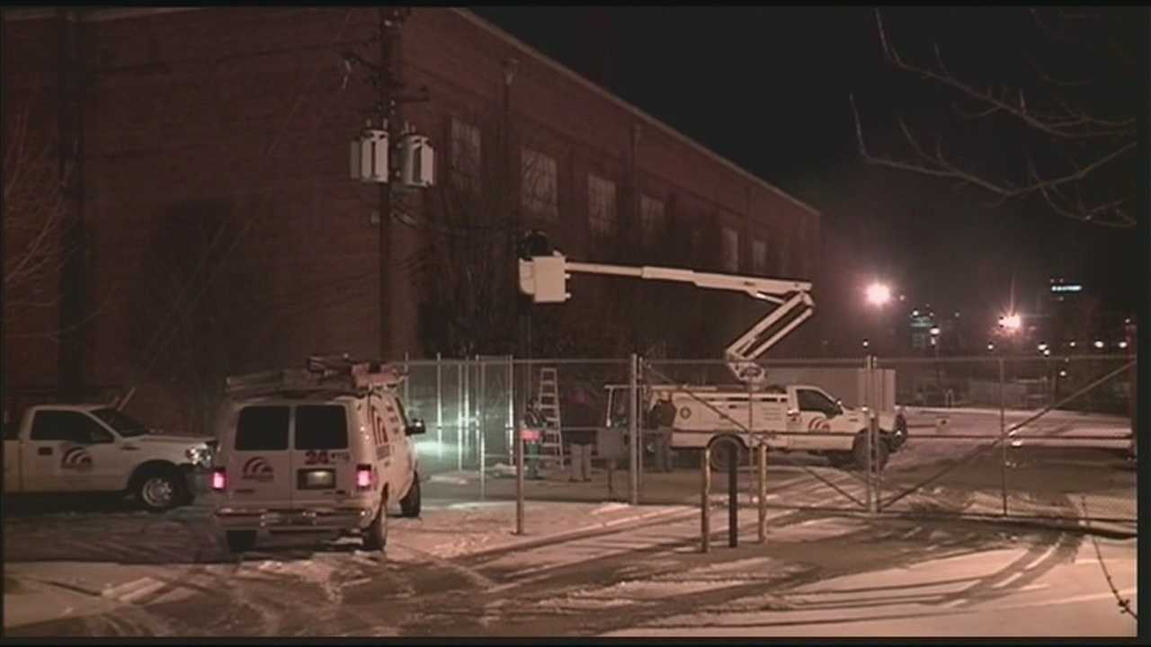 A transformer explosion forced the Salvation Army Male Campus to close for Saturday evening.