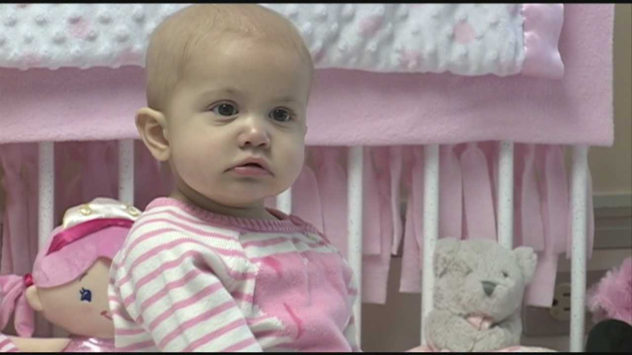 There was an overwhelming response Sunday to help save the life of an 8-month-old girl battling a rare form of leukemia.