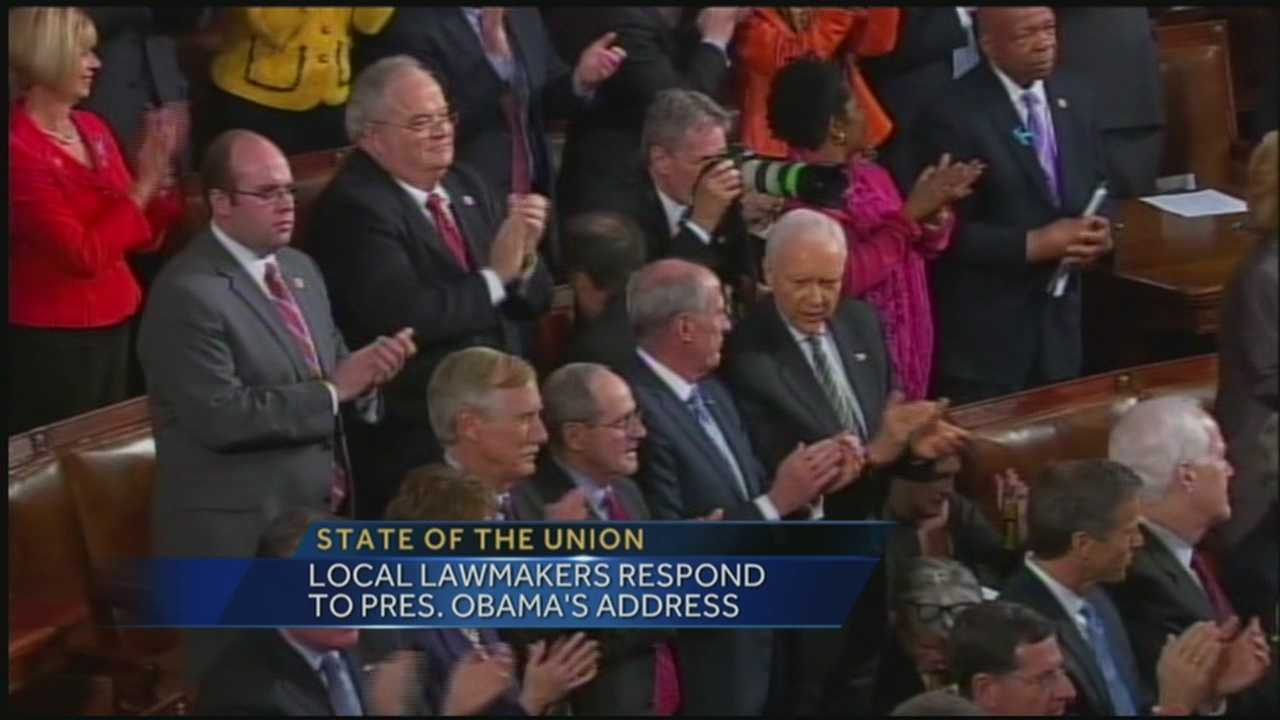 Local lawmakers respond to State of the Union address