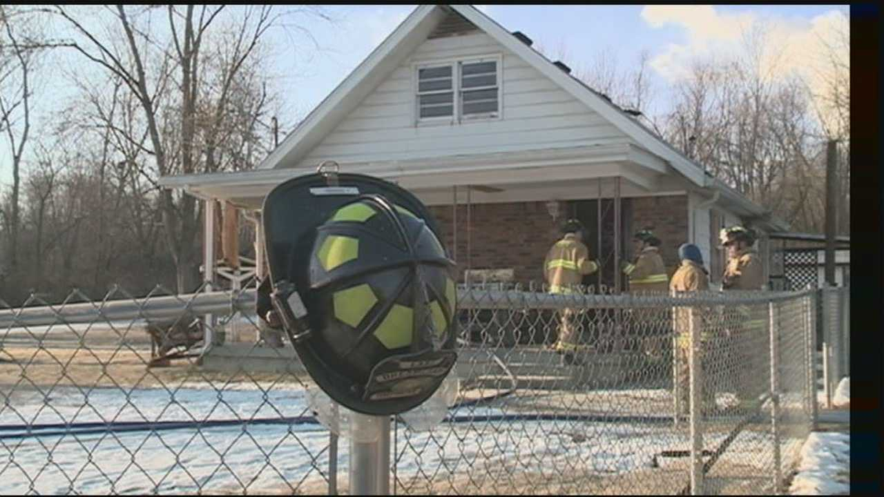 A home in western Jefferson County is badly damaged in an early morning house fire.
