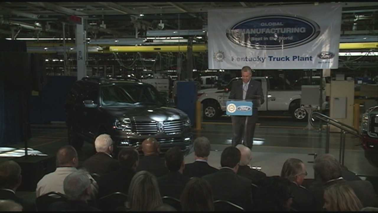 Ford Motor Company announces Thursday it will invest $80 million and add 350 jobs at the Kentucky Truck Plant.