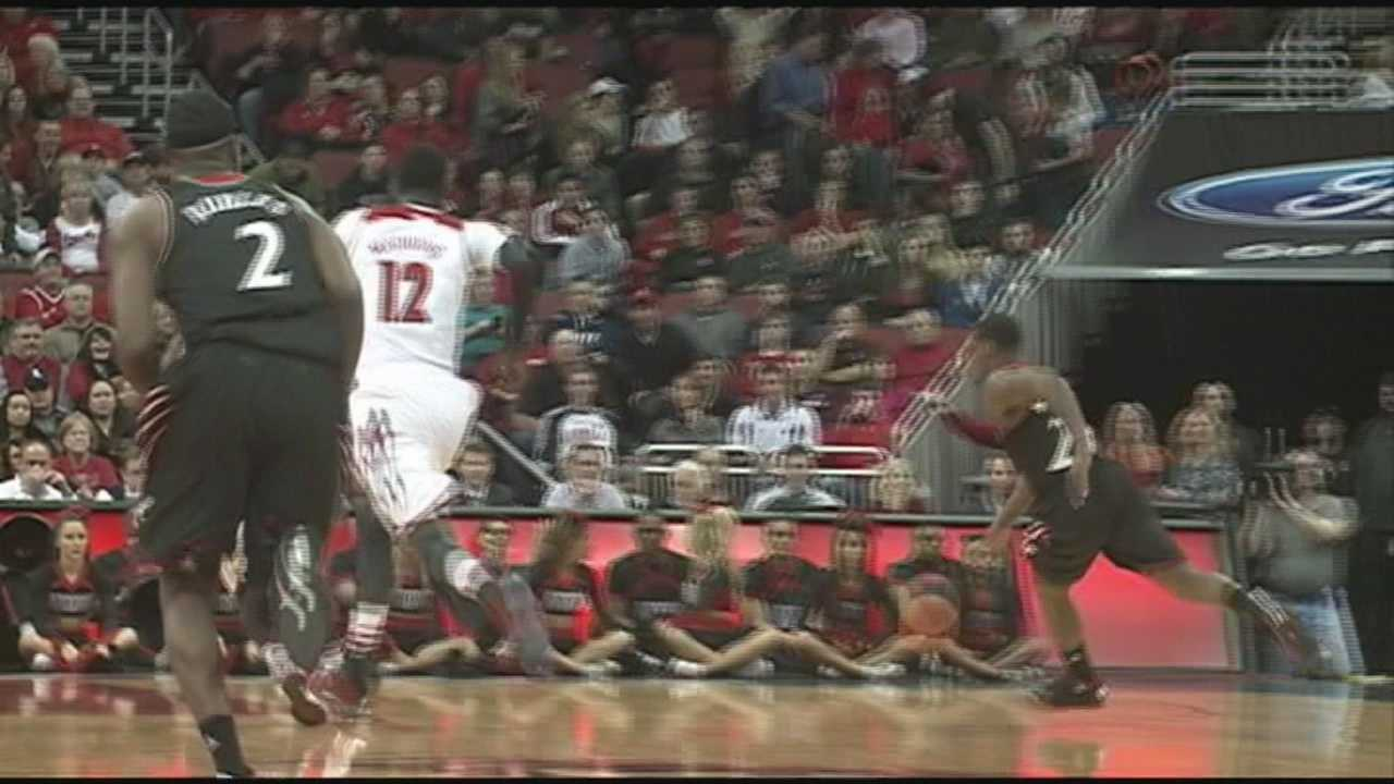 The University of Louisville men's basketball team fell short against Cincinnati on Thursday night.
