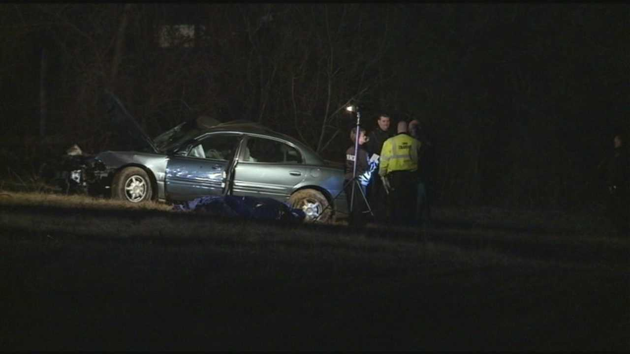 A man is dead after a police chase led to a crash Saturday evening.