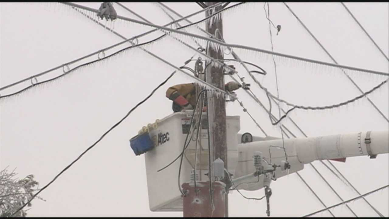 Power outages are a major concern as a cold overnight is expected.