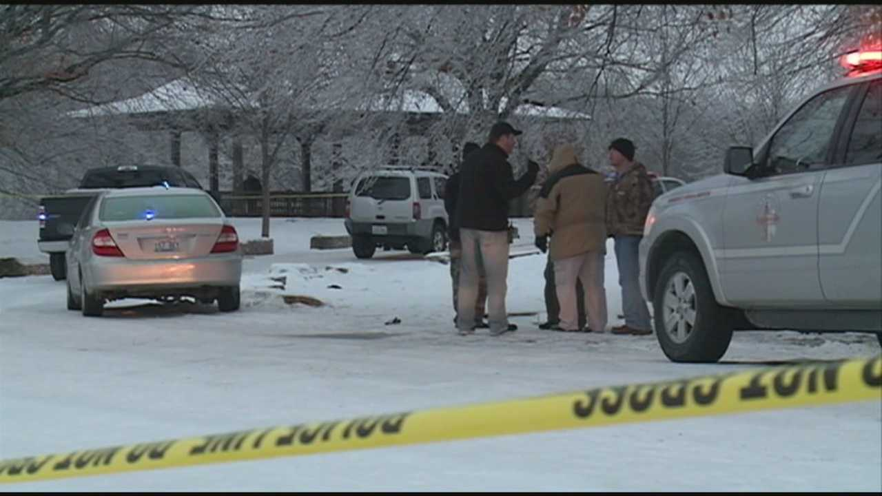 A man police believe robbed a bank Thursday shot and killed himself at Cherokee Park.
