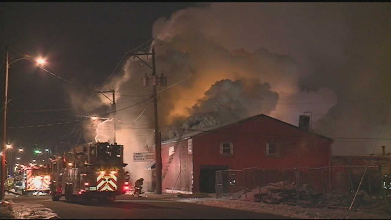 A late night fire causes heavy damage to a building that houses a daycare.
