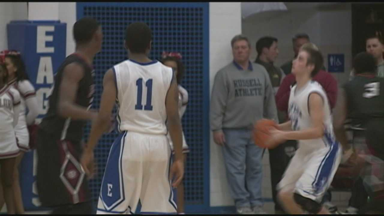 It was a busy day for high school hoops action.