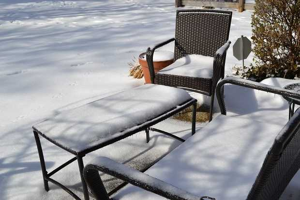 Your patio furniture may never recover.