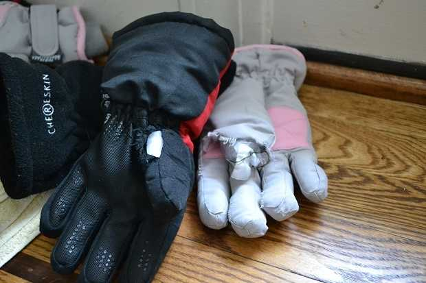 Your gloves are done.