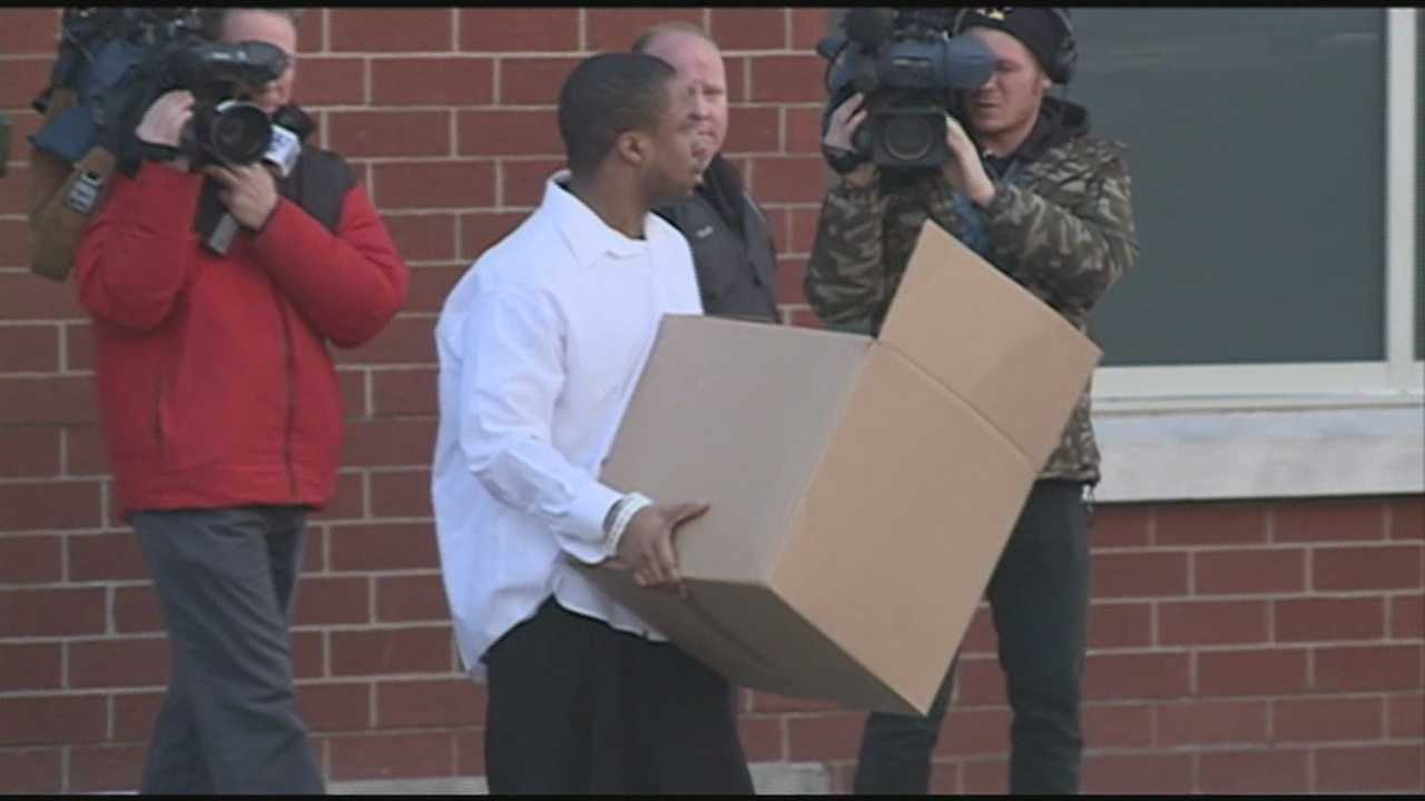 Lloyd Hammond was released from jail Wednesday, two days after he pleaded guilty to second-degree manslaughter.