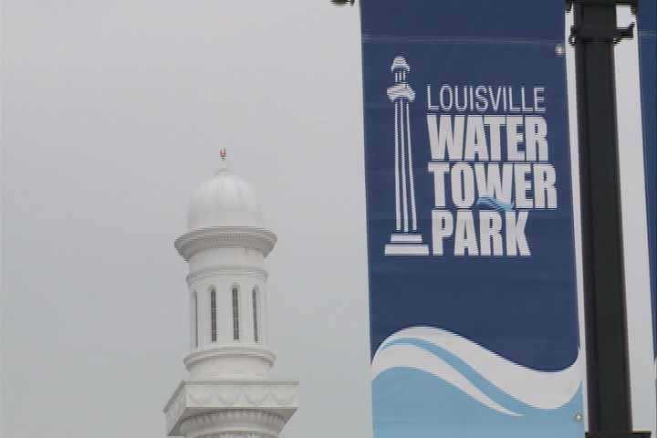 Once formed, the Water Tower in Louisville was built and completed in 1860.