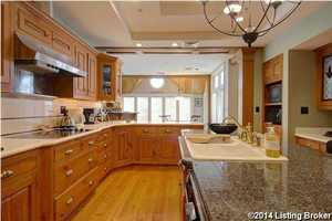 Alternate view of the kitchen.