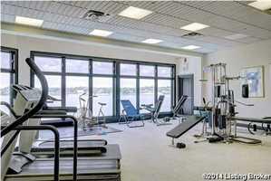 Full service gym.