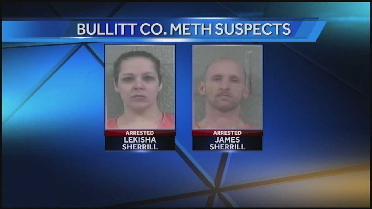 A man and woman are charged after police said they had multiple meth labs going with a child present.