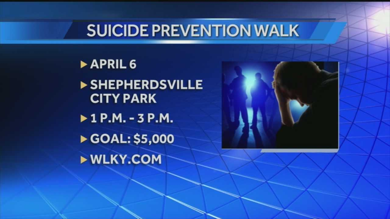 Teens are organizing a walk to raise awareness about suicide.