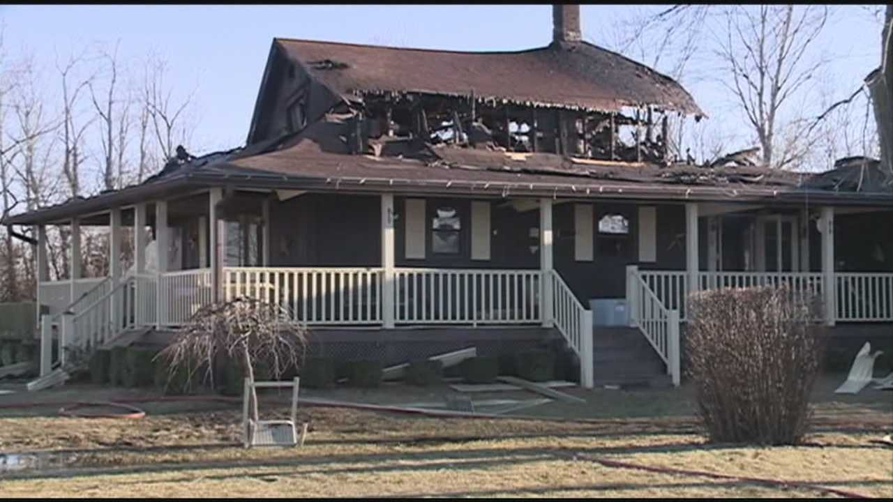 A family is looking to rebuild after fire destroys their Charlestown home.