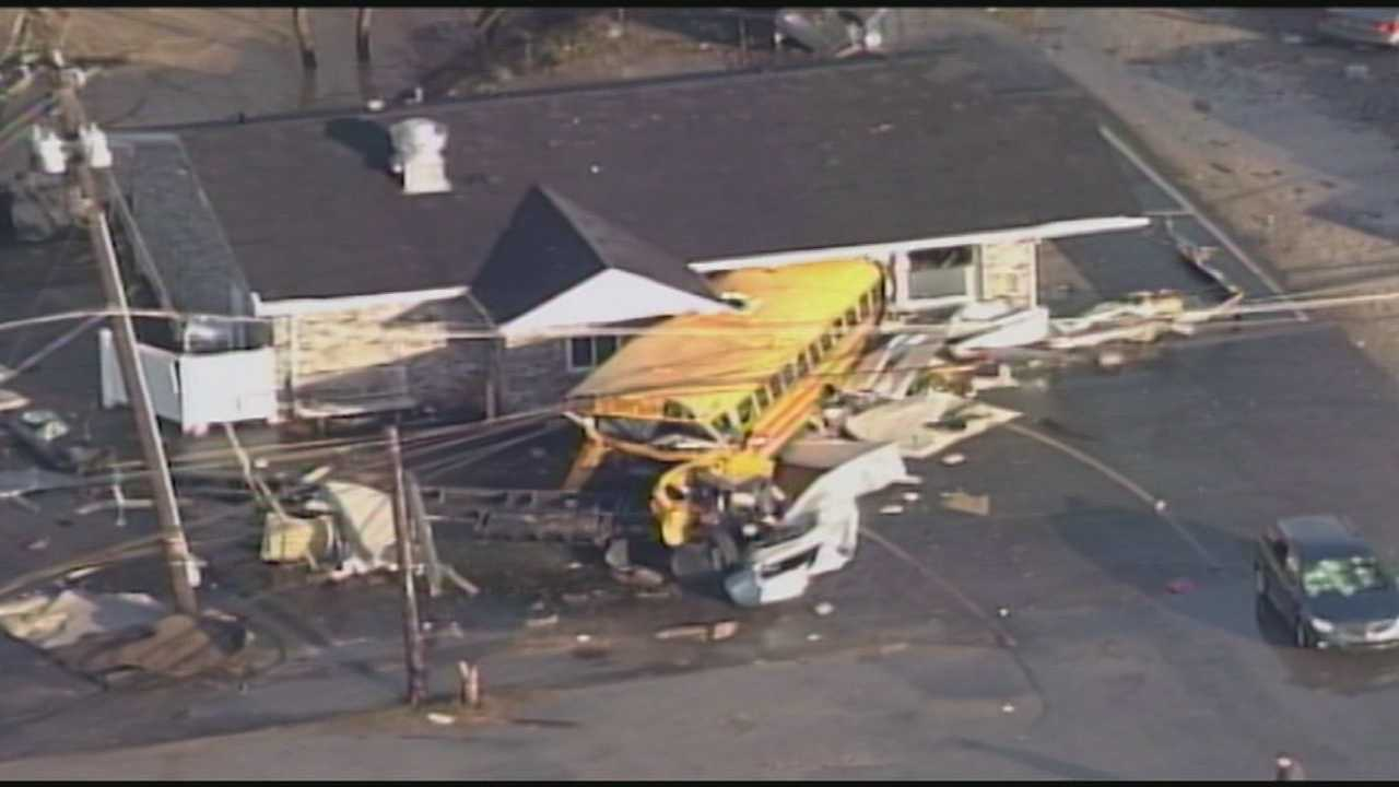 Henryville tornado survivor urges precaution