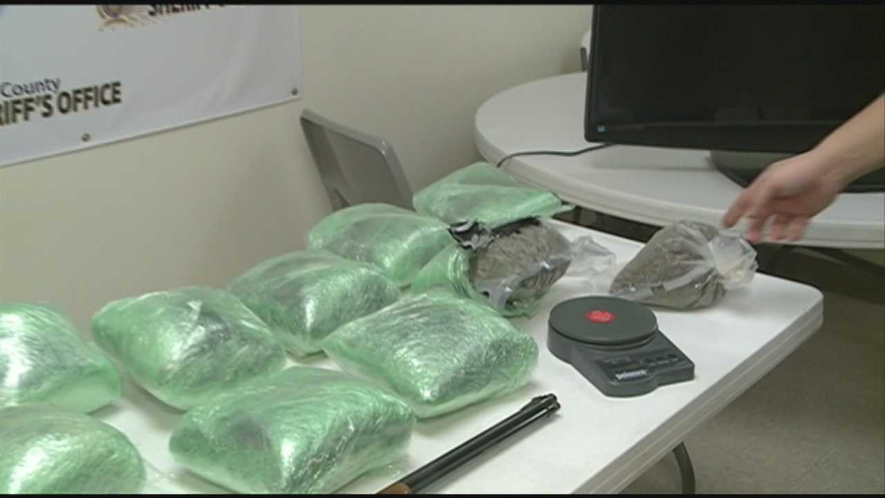 Bullitt County authorities made their biggest drug bust in 10 years.