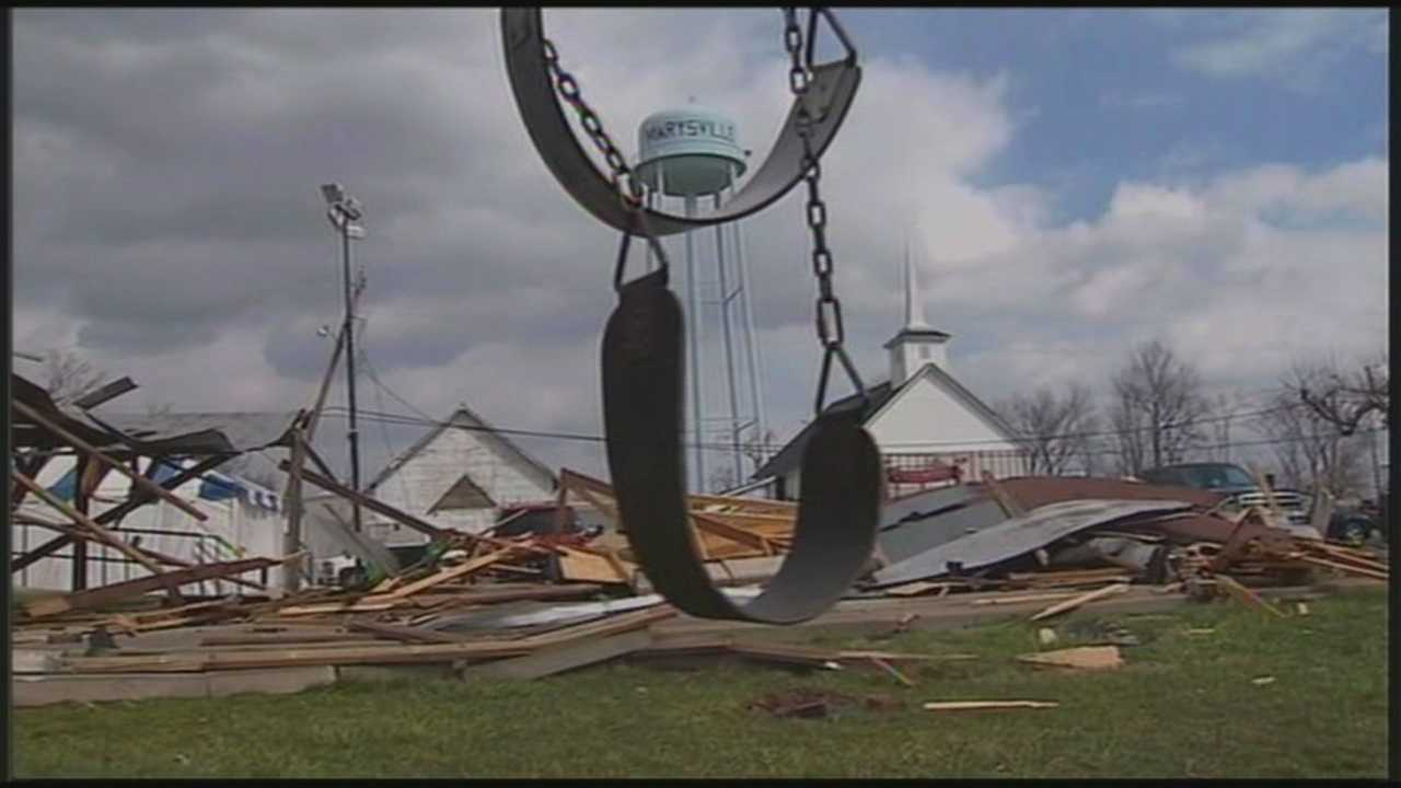 Community center destroyed by tornado rededicated
