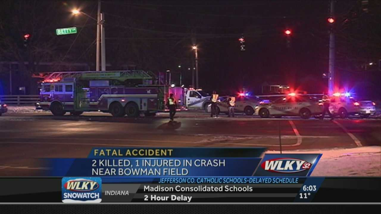 Two people were killed in a crash on Taylorsville Road.