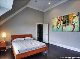 One of the spacious guest suites.