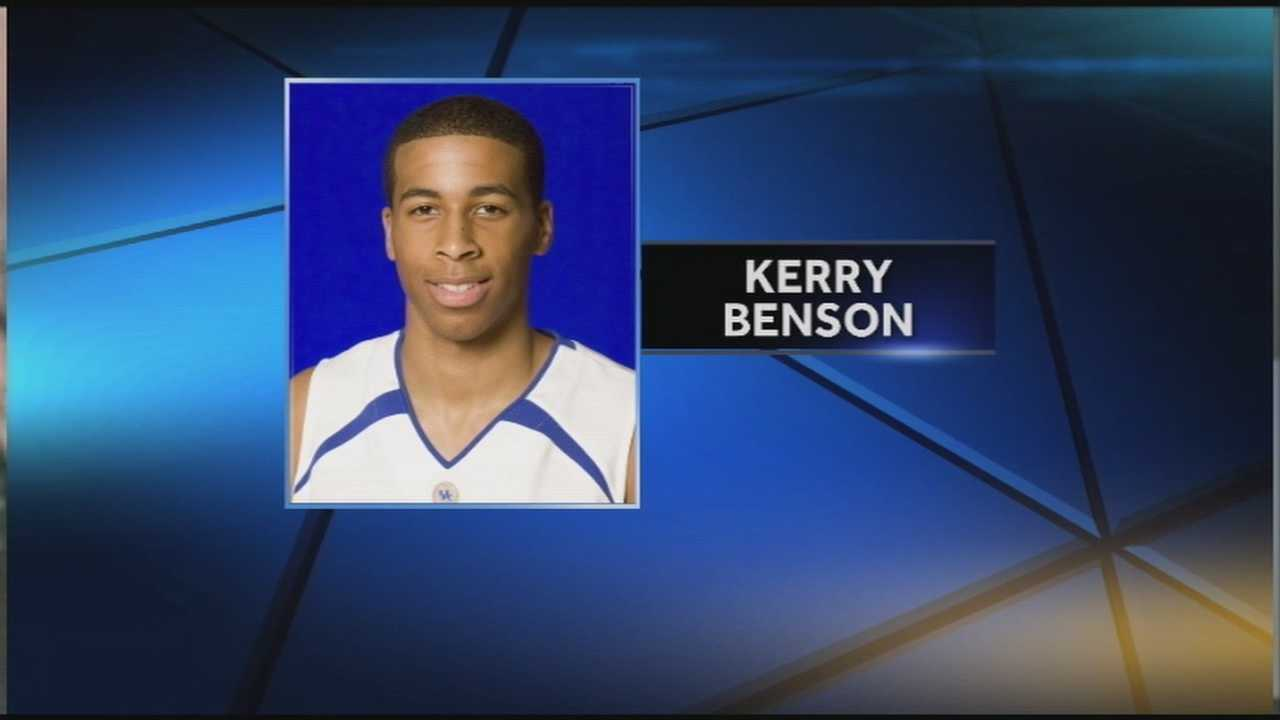 Kerry Benson was killed in a motor vehicle accident on Monday night.