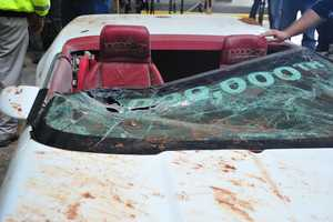 The millionth Corvette was unexpectedly rescued from a sinkhole at the National Corvette Museum on Wednesday.