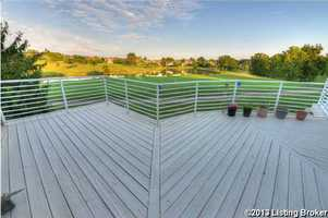 Step out onto the spacious deck perfect for entertaining.