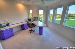 Focus in this calm, spacious office.