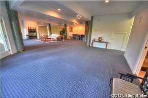 Huge great room.